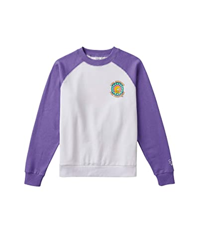 Vans Vans X The Simpsons Lisa Fleece Crew Sweatshirt ((The Simpsons) Lisa 4 Prez) Women