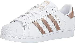 adidas Originals Women's Superstar Sneaker, Cyber Metallic/White, 6