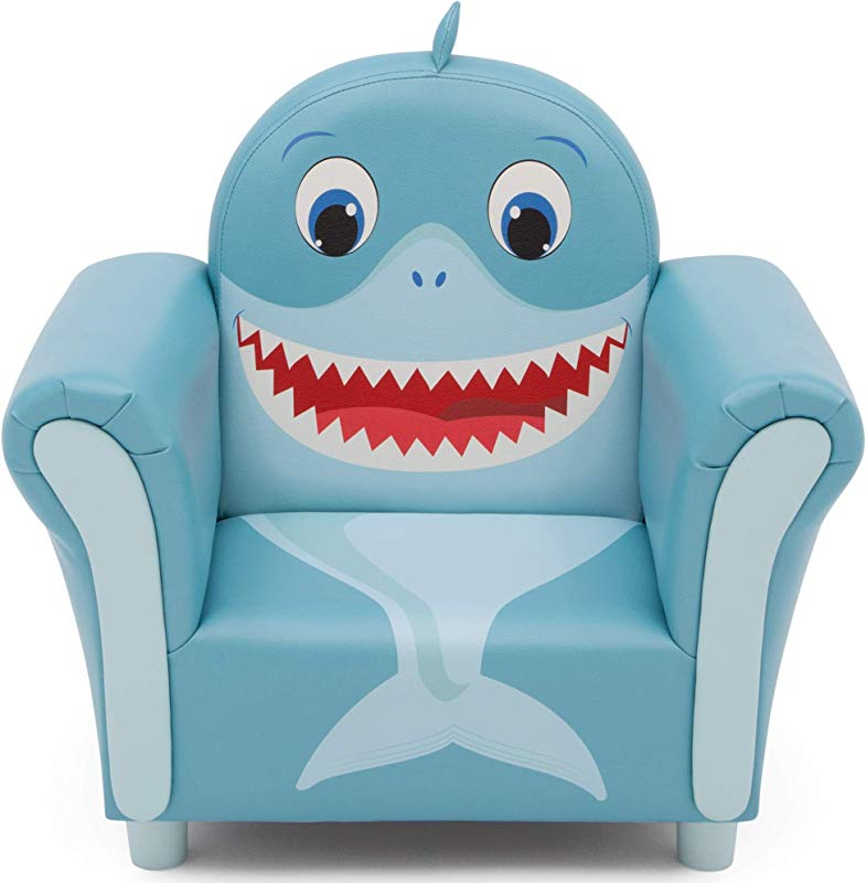 Delta Children Cozy Children S Chair Fun Animal Character Blue Shark