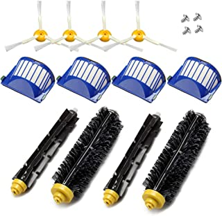 Deco Gear 12pcs Replenishment Vacuum Accessories for iRobot Roomba 675 690 Series Kit