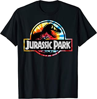 Tie Dye Circle Logo Graphic T-Shirt