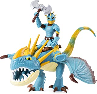Dreamworks Dragons, Stormfly & Astrid, Dragon with Armored Viking Figure, for Kids Aged 4 & Up