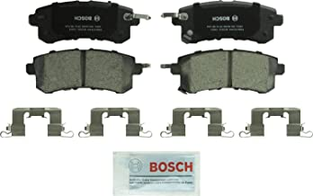 Bosch BC1510 QuietCast Premium Ceramic Disc Brake Pad Set For Infiniti: 2011-2013 QX56, 2014-2017 QX80; Nissan: 2017 Armada; Rear