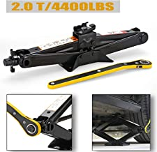 CPROSP Scissor Jack Car for/SUV/MPV max 2 Tons(4,409 lbs) Capacity with Hand Crank..