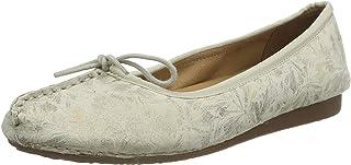 Clarks Kadın Freckle Ice Kapalı Balerin ayakkabısı