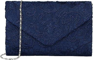 EULovelyPrice Damen Elegant Spitze Umschlag Clutches Abendtasche Party Hochzeit Handtaschen