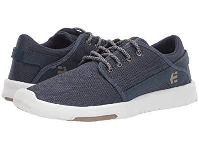 etnies Scout (Navy/Tan/White) Men