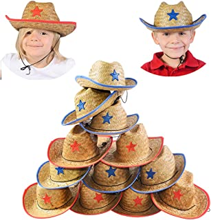 Funny Party Hats Cowboy Party Hats - Sheriff Costume for Kids - Cowboy Hats - Dress up Hats