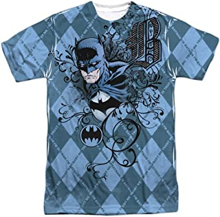 Trevco Men's Batman Double Sided Print Sublimated T-Shirt