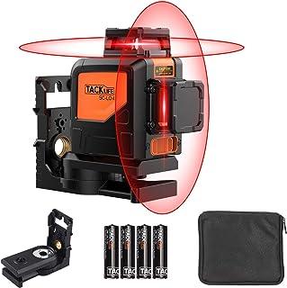 comprar comparacion 360ºx2 Nivel Láser con Autonivelación, Tacklife SC-L04, 30M, Inclinación, línea vertical y horizontal autonivelante de 360...