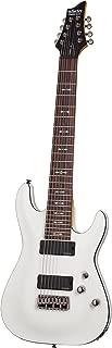 Schecter OMEN-8 8-String Electric Guitar, Vintage White