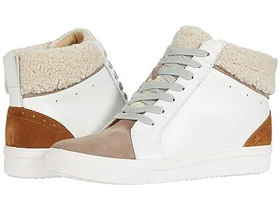 Blondo Gulia Waterproof Sneaker (White/Camel Multi Leather) Women