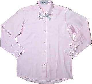 Pierre Cardin Boys' Long Sleeve Dress Shirt with Tie Set