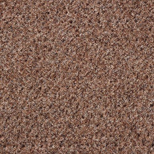 Kunstrasen Rasenteppich mit Noppen | Höhe ca. 7,5mm | 133, 200 und 400 cm Breite | beige hell-braun | Meterware, verschiedene Größen | Größe: 3,5 x 4 m