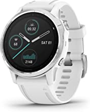 $499 » Garmin Fenix 6S, Premium Multisport GPS Watch, Smaller-Sized, Heat and Altitude Adjusted V02 Max, Pulse Ox Sensors and Tra...