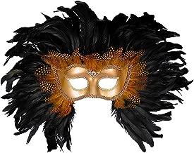 Forum Elaborate Feather Venetian Mask