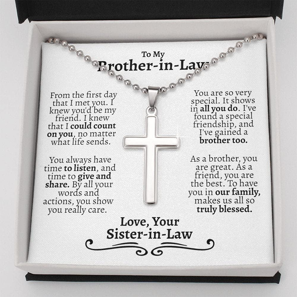 Personalized Jewelry Gift - Forever In Necklace La free shipping Ranking TOP9 Brother Love