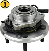 MotorbyMotor Front Wheel Bearing and Hub Assembly Fit 2012 2013 2014 2015 2016 2017 2018 2019 Dodge Ram 1500 Hub Bearing 5 Lugs, w/ABS, 2WD 4WD, Replace HA590515
