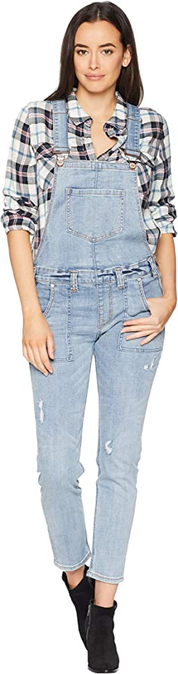 Overall Jeans in Light Wash WA-7693