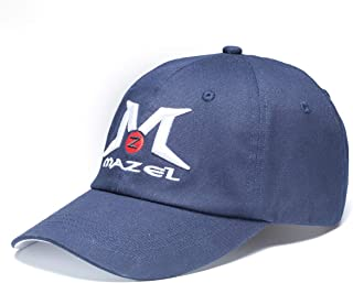 MAZEL Tour Men Golf Cap,Buckle Closure Sports Structured Adjustable Hat