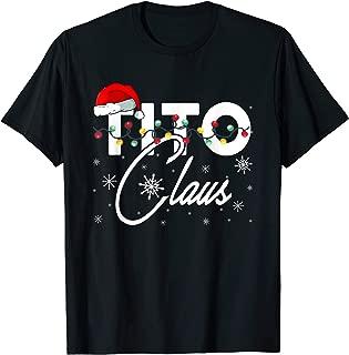 Tito Santa Claus Hat Matching Christmas Gift T-shirt T-Shirt