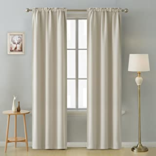 black and cream curtains 90 x 90