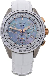 Seiko Astron Quartz (Battery) Mother-of-Pearl Dial Mens Watch SSE063 (Certified Pre-Owned)