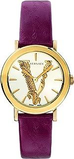 ساعة فيرزاتشي للسيدات بسوار من الجلد كاجوال - VEHC00219