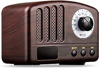 $85 » EODUDO-S Rechargeable Mini Retro Bluetooth Speaker FM Radio 5W Portable Wireless Music Classic Speaker 1200mAh Support TF ...