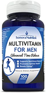 Sonora Nutrition Multivitamin for Men Advanced Time Release, 100 Capsules