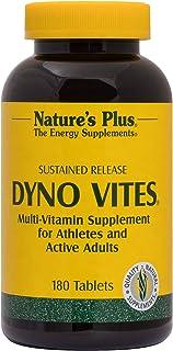 NaturesPlus Dyno Vites, Sustained Release - 180 Vegetarian Tablets - Multivitamin & Mineral Supplement - 90 Servings