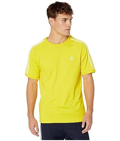 adidas Originals BLC 3-Stripes Tee (Yellow) Men