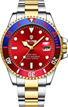 Swiss Rainbow Luminous Submariner Watch Men's Automatic Mechanical Watch Fashion Black Stainless Steel Waterproof Calendar Watch