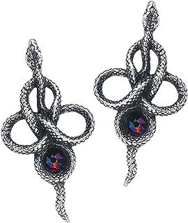 Alchemy Gothic Tercia Serpent Drop Earrings