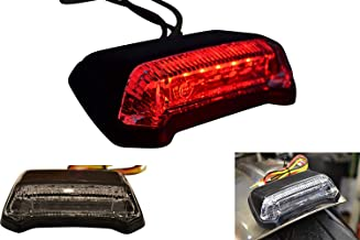 HEXIN INC 12V moto rouge feu arri/ère LED frein stop signal lumineux