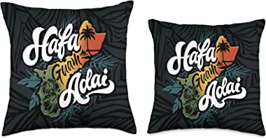 Guam T shirts Chamorro Pride Gifts Guam Island Hafa Adai || Guamanian Chamorro Decorative Throw Pillow, 16x16, Multicolor
