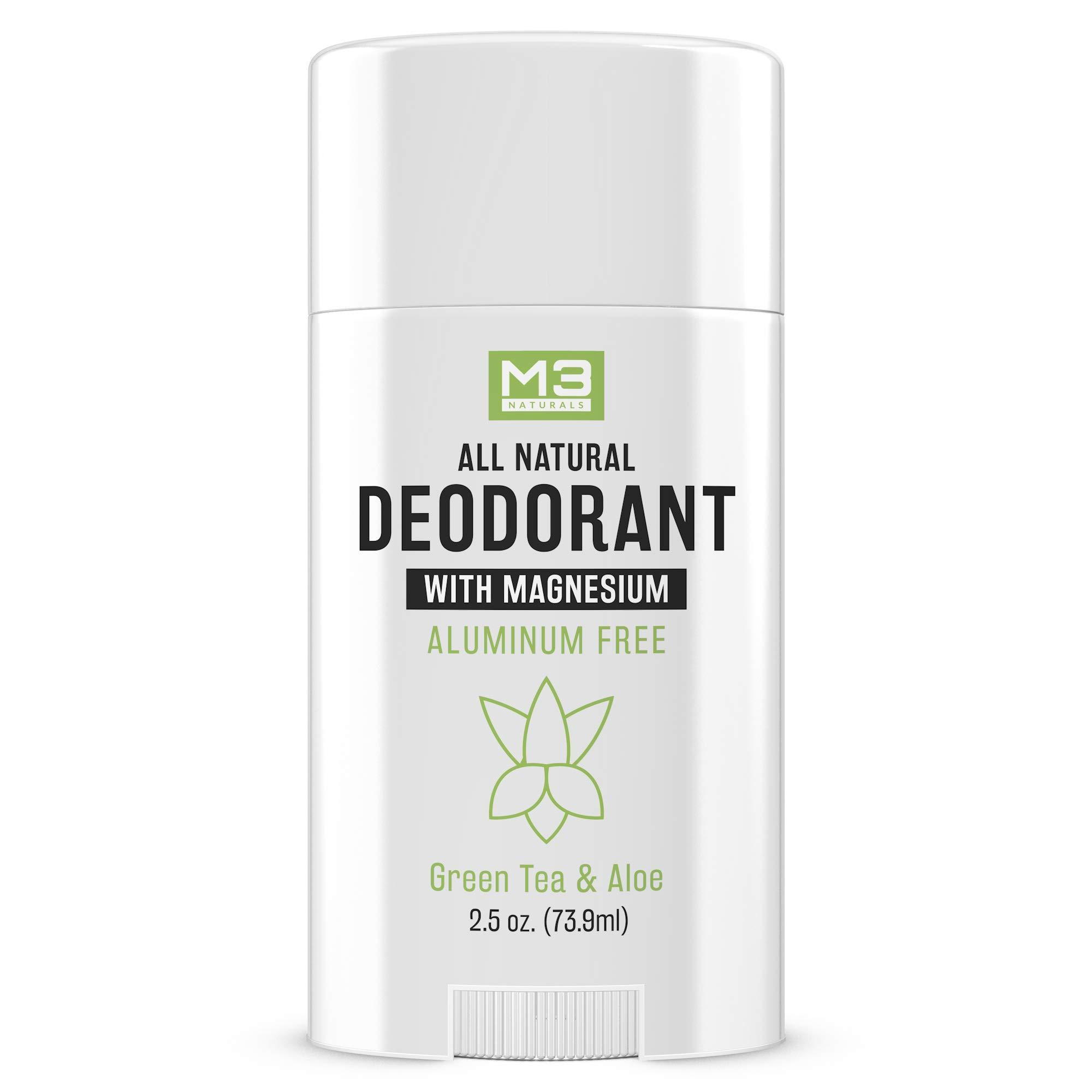 M3 Naturals Deodorant Magnesium Aluminum