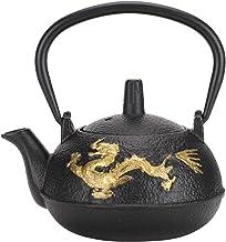 Lipcowe letnie prezenty Cuque Żelazny dzbanek do herbaty, ozdoba na biurko żelazny zestaw do herbaty w japońskim stylu, do...