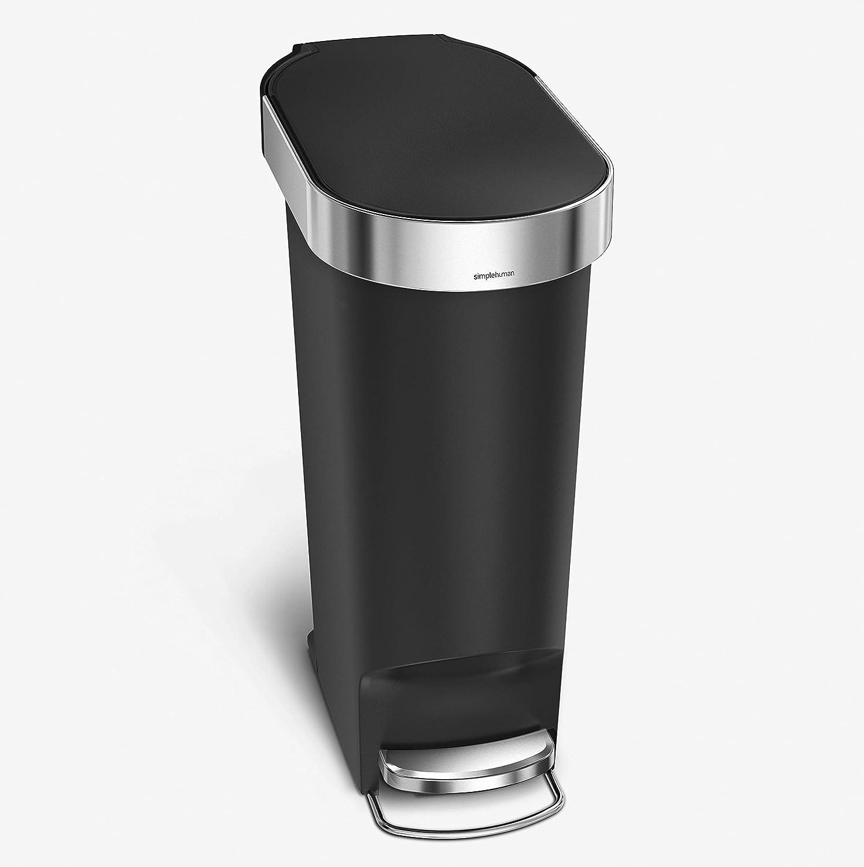 simplehuman 40 Liter 10.6 Gallon Slim w Kitchen Trash Step Can Super-cheap Direct sale of manufacturer