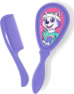 Paw Patrol Baby Toddler Comb & Brush Set Featuring Your Choice of Chase, Marshall, Skye or Everest (Everest Purple)