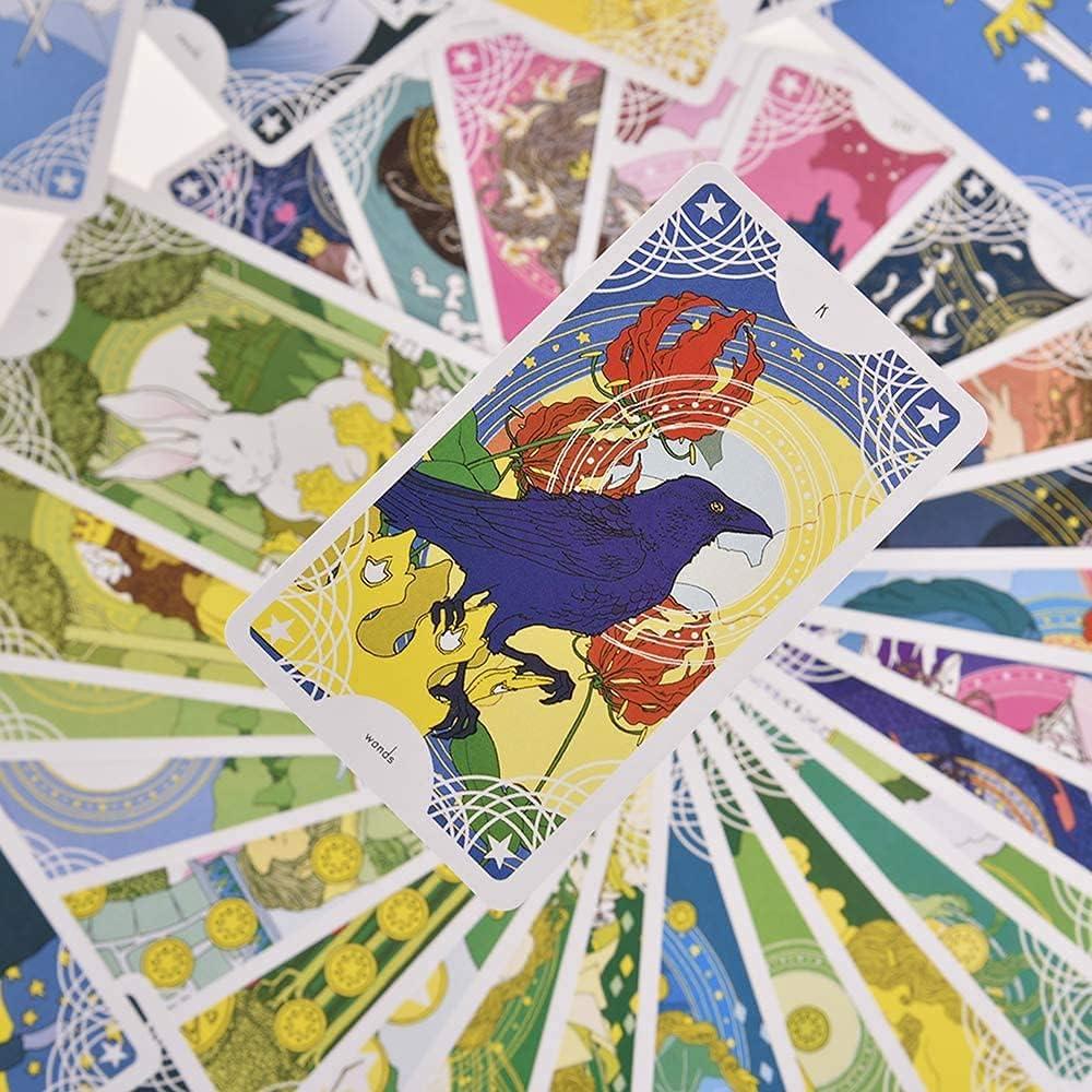 Koolife Animals Bear Tarot Cards for Beginners and Expert Readers-78 Cards