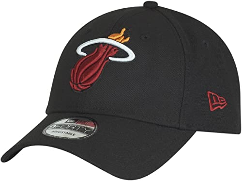 New Era Casquette 9FORTY NBA The League Miami Heat Noir