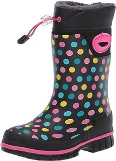 Western Chief Kids' Rainbow Dot Winterprene Boot Snow
