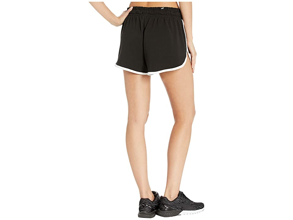 PUMA Summer Shorts (Cotton Black) Women's Clothing