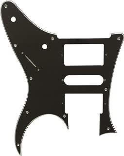 Custom Guitar Pickguard For Ibanez RG 350 EX Style Guitar (3 Ply Black)