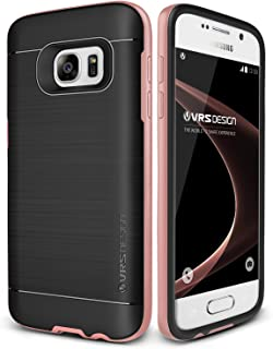 Galaxy S7 Case, VRS Design [High Pro Shield][Rose Gold] - [Military Grade Protection][Slim Fit] For Samsung S7