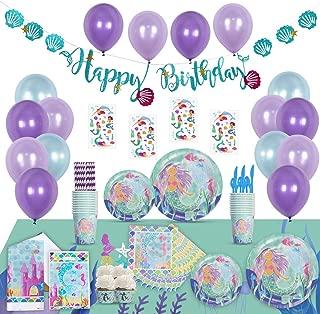 Best little mermaid birthday supplies Reviews