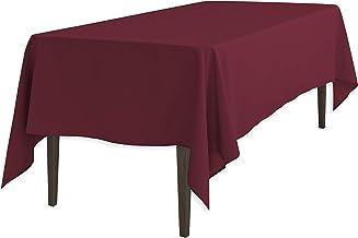 LinenTablecloth 120 Inch Rectangular Polyester Tablecloth