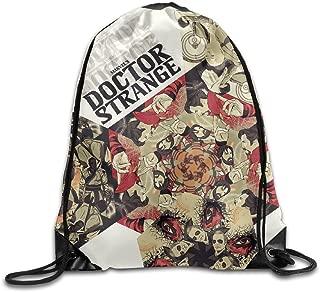 MDSHOP Doctor Strange Drawstring Backpack Sack Bag