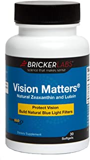 Sponsored Ad - Vision Matters Natural Zeaxanthin & Lutein 30ct │Complete Eye Support │Helps Protect The Eyes from oxidativ...